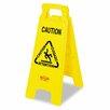 "Rubbermaid Commercial Multilingual ""Caution"" Floor Sign"