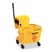 Rubbermaid Commercial Wavebrake 35-qt. Bucket/Wringer Combinations