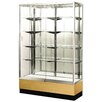 "Streamline 48"" x 18"" Trophy Case with Panel Back"