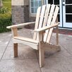 Shine Company Inc. Rockport Adirondack Chair