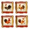 Certified International Tuscan Rooster Dinnerware Set