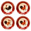 <strong>Certified International</strong> Tuscan Rooster Soup / Pasta Bowl (Set of 4)