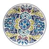 "Certified International Mood Indigo 14.5"" Round Platter"