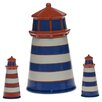 <strong>Certified International</strong> Lighthouse 3D Cookie Jar and Shaker Set