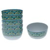 "<strong>Certified International</strong> Mexican Tile 5.75"" Ice Cream Bowl (Set of 6)"