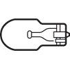 Kichler 3.4W Fluorescent Light Bulb (Set of 10)