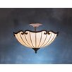 <strong>Kichler</strong> Tiffany 2 Light Semi Flush Mount