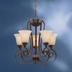 <strong>Kichler</strong> Willowmore 5 Light Up Chandelier