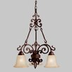 <strong>Wilton 3 Light Chandelier</strong> by Kichler
