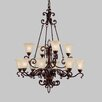 <strong>Wilton 12 Light Chandelier</strong> by Kichler