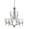 <strong>Kichler</strong> Wharton 9 Light Chandelier