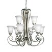 <strong>Kichler</strong> Willowmore 9 Light Chandelier