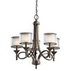 <strong>Kichler</strong> Lacey 5 Light Chandelier
