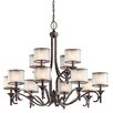 <strong>Kichler</strong> Lacey 12 Light Chandelier