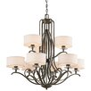 <strong>Leighton 9 Light Chandelier</strong> by Kichler