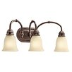 <strong>Durham 3 Light Vanity Light</strong> by Kichler
