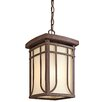 <strong>Riverbank 1 Light Foyer Pendant</strong> by Kichler