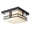 Kichler Tremillo 2 Light Outdoor Flush Mount