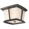 Brockton 2 Light Flush Mount