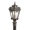 <strong>Tournai 4 Light Outdoor Post Lantern</strong> by Kichler