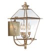 <strong>Troy Lighting</strong> Montgomery 3 Light Wall Lantern