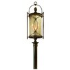 St. Moritz 6 Light Outdoor Post Lantern