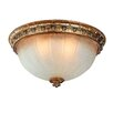 <strong>L Opera Flush Mount</strong> by Corbett Lighting