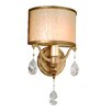 <strong>Corbett Lighting</strong> Roma ADA 1 Light Wall Sconce