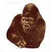 Danese Milano Seria della Natura Il Gorilla--Gorilla 1976 Silkscreen Graphic Art
