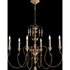 Quorum Salento 6 Light Transitional Chandelier