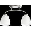 Quorum Reyes 2 Light Semi Flush Mount