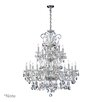 <strong>Bohemian Katerina 18 Light Chandelier in Chrome</strong> by Quorum