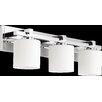 Quorum 3 Light Cylinder Vanity Light