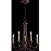 Quorum Brooks 5 Light Candle Chandelier