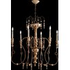 Quorum Salento 6 Light Chandelier