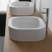 <strong>Scarabeo by Nameeks</strong> Next Square Vessel Bathroom Sink