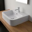 Scarabeo by Nameeks Next Wall Mount or Above Counter Vessel Bathroom Sink
