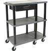 <strong>H. Wilson Company</strong> Tuffy 70 Series Extra Wide Open Shelf Presentation Station