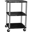 <strong>Tuffy Height Adjustable Open Shelf AV Cart</strong> by H. Wilson Company