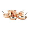 All-Clad c2 Copper Clad 10-Piece Cookware Set