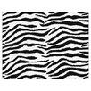 Sweet Jojo Designs Zebra Floor Purple Area Rug