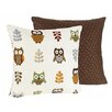 <strong>Night Owl Decorative Pillow</strong> by Sweet Jojo Designs