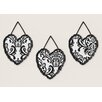 Sweet Jojo Designs 3 Piece Isabella Wall Hanging Set