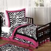 Zebra 5 Piece Toddler Bedding Set