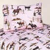<strong>Sweet Jojo Designs</strong> Cowgirl Collection Horse Print Sheet Set