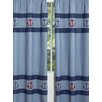Sweet Jojo Designs Nautical Nights Curtain Panel (Set of 2)