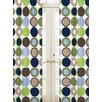 Sweet Jojo Designs Designer Dot Rod Pocket Curtain Panels (Set of 2)
