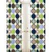 Designer Dot Rod Pocket Curtain Panel