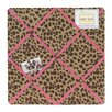 <strong>Cheetah Pink Collection Memo Board</strong> by Sweet Jojo Designs