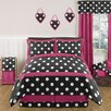 <strong>Sweet Jojo Designs</strong> Hot Dot Comforter Set